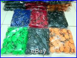 8 Color 1000pcs/lot RFID Tag 125khz TK4100 Token Key Fobs Rfid tags For Access