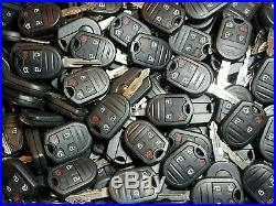LOT OF 100 REPLACEMENT FORD Button Keyless Entry Remote Key Fobs