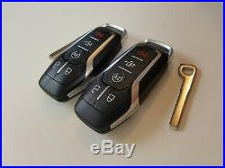 LOT OF 2 FORD F-150 15-17 OEM SMART KEY LESS ENTRY REMOTE PUSH START FOB 902MHz