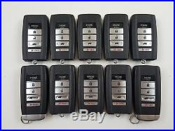Lot Of 10 Acura Tlx ILX Rlx Dr#2 Dr#1 15-19 Smart Key Less Entry Oem Fob USA Us