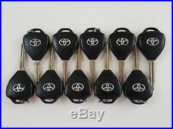 Lot Of 10 Toyota Gq4-29t Avalon Corolla 08-12 Remote Oem Key Less Entry 4d67 USA