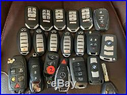 Lot Of 20 Ford Acura Honda And More Smart Key Fob Remotes OEM