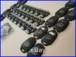 Lot Of 20 Original Toyota Camry Corolla 12-19 Head Key Less Entry Remote 4button
