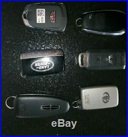 Lot Of 6 Used Key Fobs